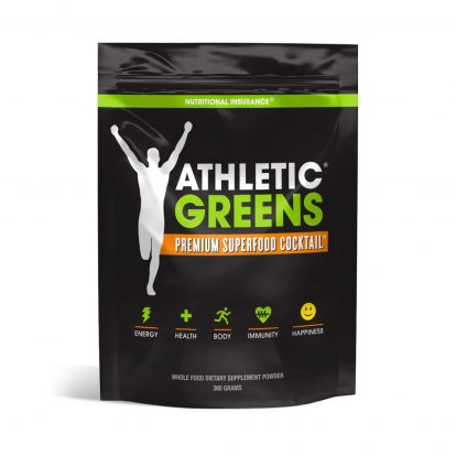 Athletic Greens Premium Green Superfood Cocktail - Pouch