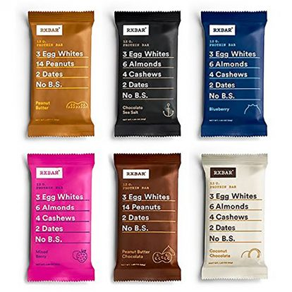 RXBAR Whole Food Protein Bar, Variety Pack